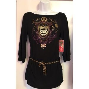 Women's Ecko Red Top Size M